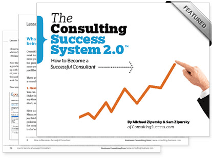Consulting Success System Cover