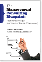 The Management Consulting Blueprint Cover