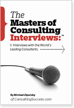 Masters of Consulting Interviews Cover