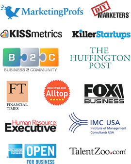 Featured in KISSmetrics, Huffington Post, Fox Business, Financial Times etc.