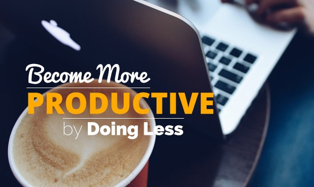 Do-Less-More-Productive