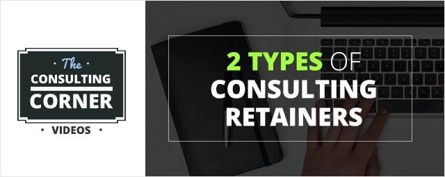 2 types consulting retainers