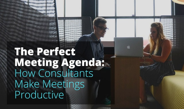 make a meeting agenda