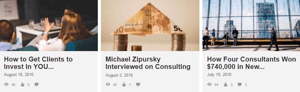 linkedin publishing article