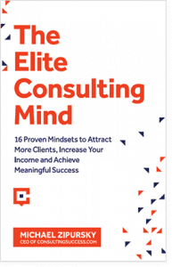the elite consulting mind book cover