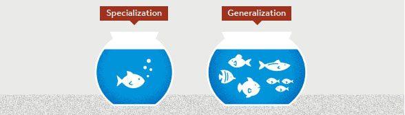 specialization vs generalization for consultants