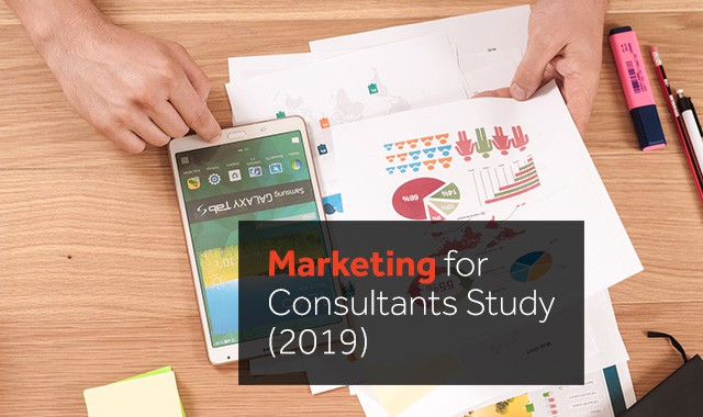 marketing for consultants 2019 study
