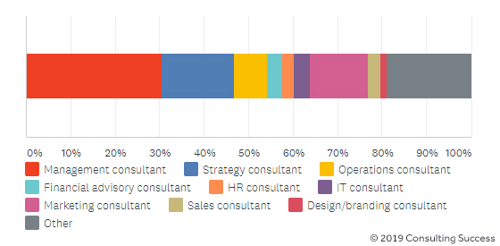 types and industries of consultants