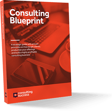 Consulting Blueprint Cover