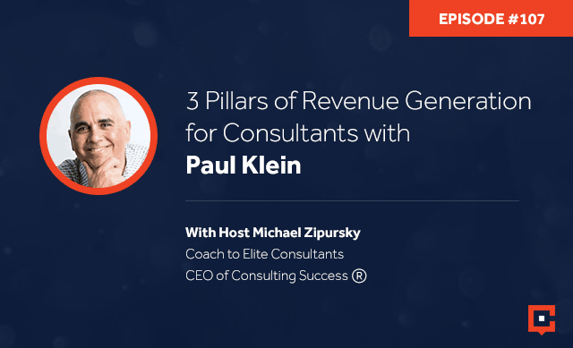 CSP 107 | Revenue Generation For Consultants