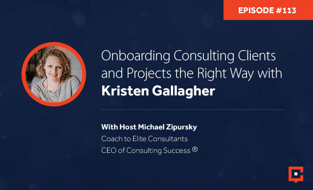 CSP 113 | Onboarding Consulting Clients