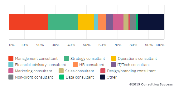 types of consultants and their fees