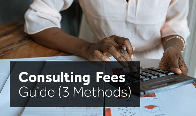 consulting fees guide