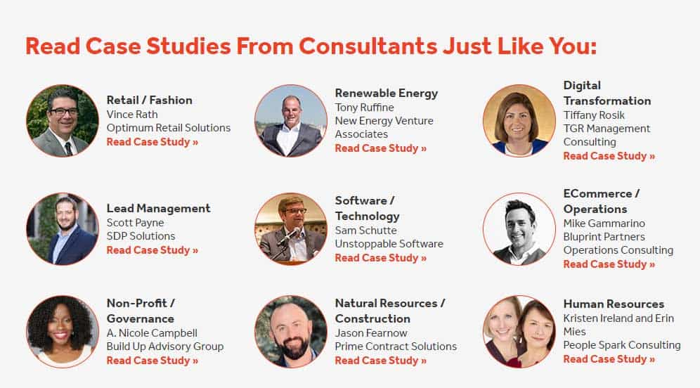 consulting case study examples