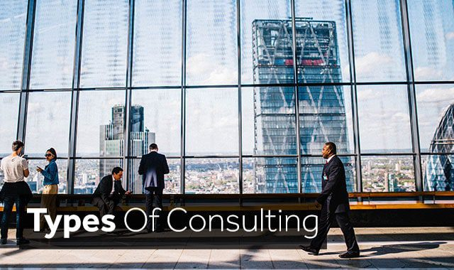 types of consulting